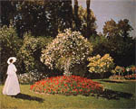 ���� ���� - Jeanne-Margueritte in the Garden